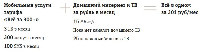 Все в одном за 301 рубль