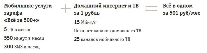 Все в одном за 501 рубль