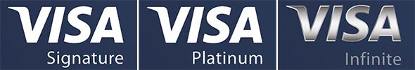 VISA Platinum, Signature, Infinite